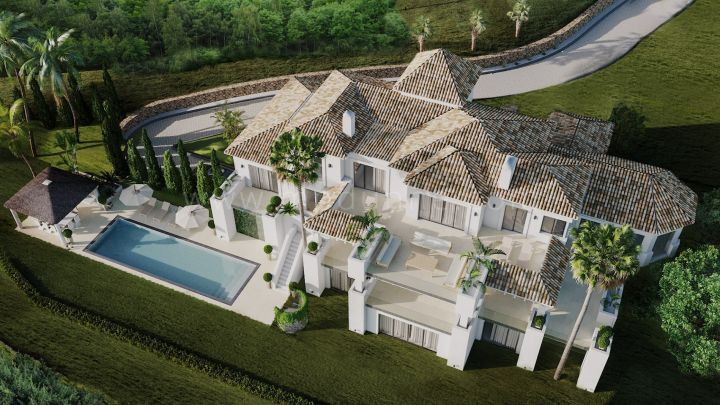 Benahavis, A Six-bedroom Masterpiece Mansion in La Zagaleta