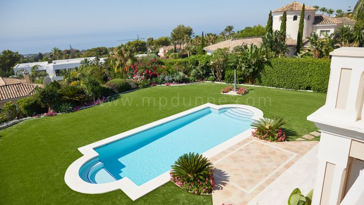 Marbella Golden Mile, Classic Villa in Sierra Blanca Marbella with Panoramic Views