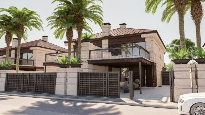 Marbella Golden Mile, Beautifully Designed New Villas Development in Golden Mile
