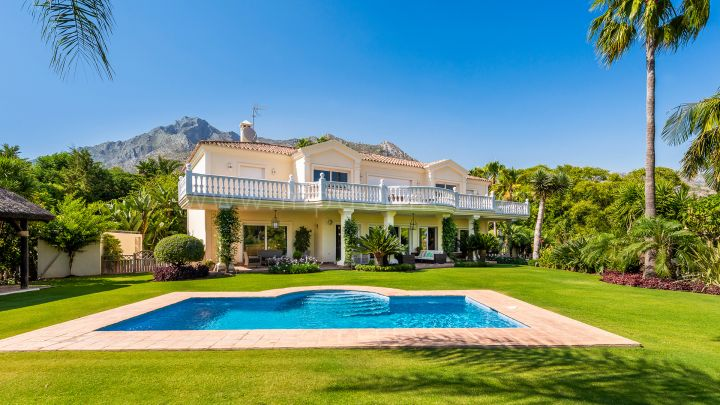 Marbella Golden Mile, Magnificent Family Villa for Long Term Rental in Sierra Blanca