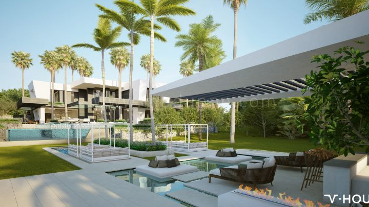 Marbella Golden Mile, New project of Luxury Villa in Marbella near Golden Mile.