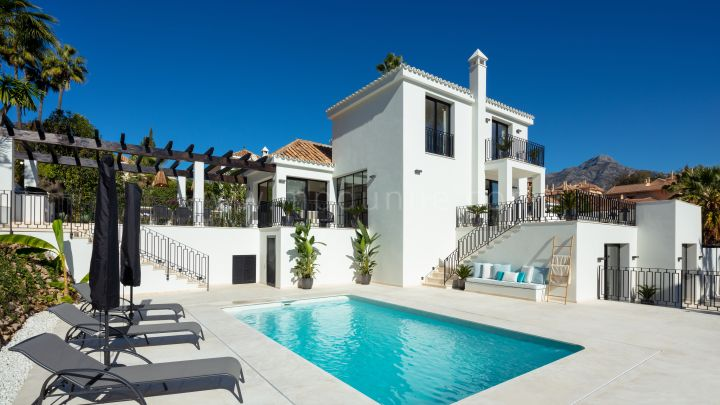 Nueva Andalucia, Renovated to New Villa in Nueva Andalucia Marbella
