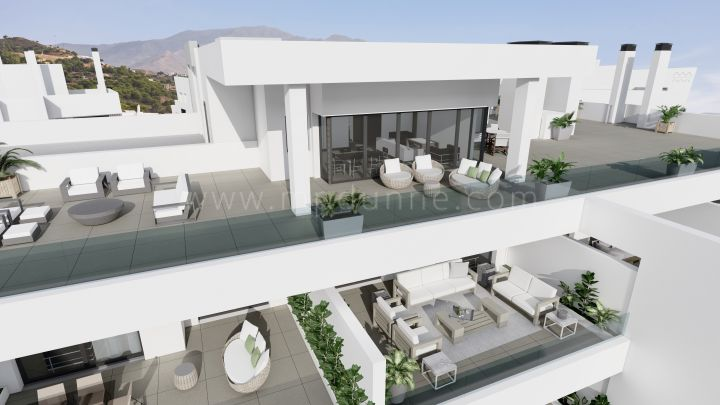 Estepona, Off plan penthouse with panoramic views in Estepona
