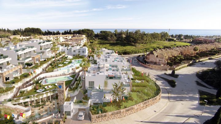 Marbella Golden Mile, New townhouses on Marbella Golden Mile