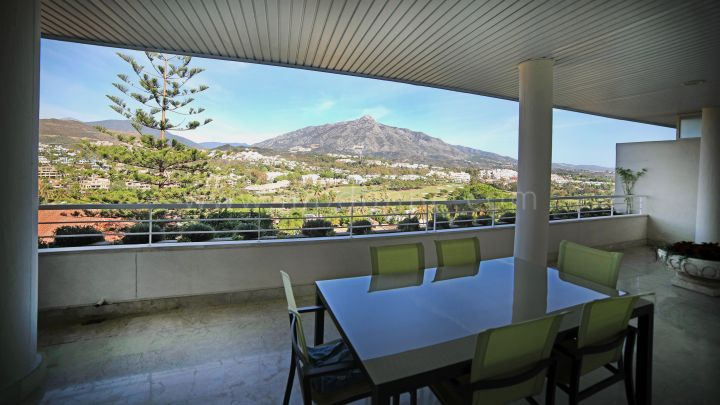 Nueva Andalucia, Spacious apartment with fantastic panoramic La Concha view!