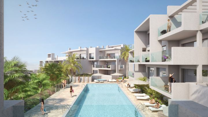 Estepona, Modern new development of apartments in Estepona Town