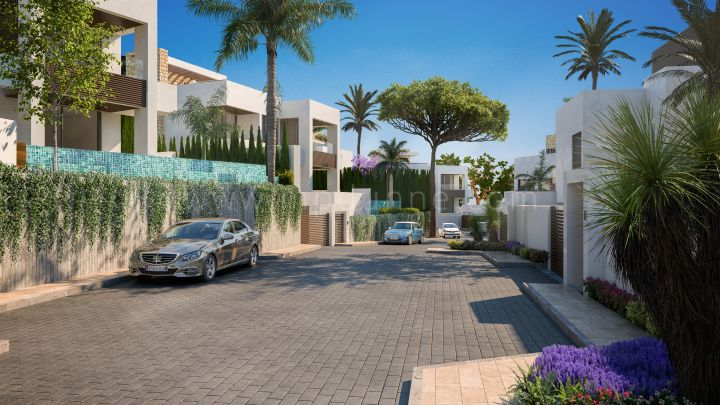 Marbella City, New Modern Villa in a Gated Community Marbella