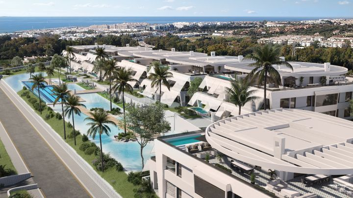 Marbella Golden Mile, Contemporary apartments in Marbella Golden Mile
