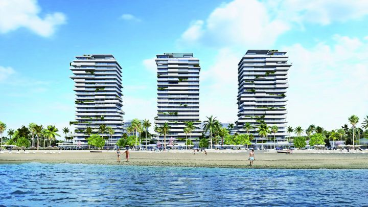 Malaga, Malaga New Off Plan Beachfront Project