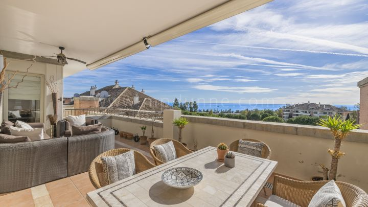 Marbella Golden Mile, Luxury Duplex Penthouse in La Trinidad Golden Mile Marbella