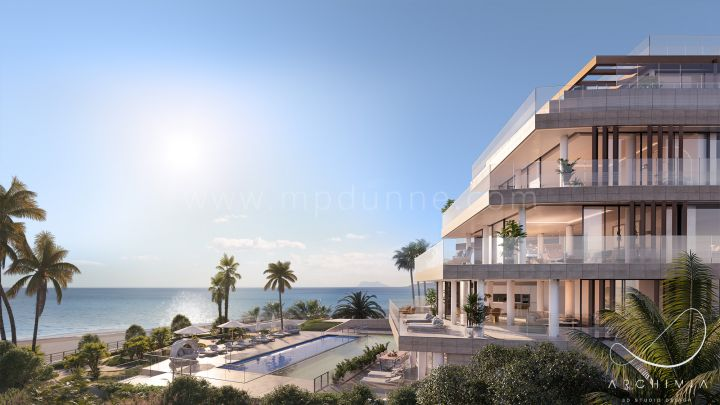 Estepona, New luxury project on the beachfront in Estepona