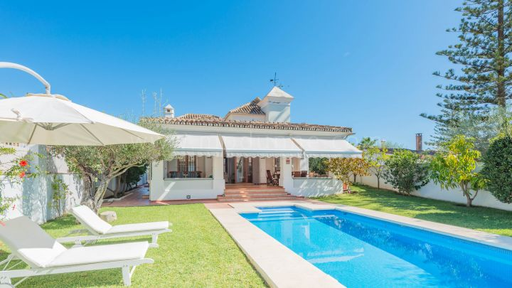 Marbella Golden Mile, Beachside Family Home in the Golden Mile, Marbella