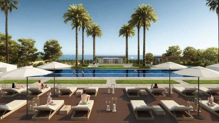 Estepona, Beachfront Duplex Penthouse in New Golden Mile