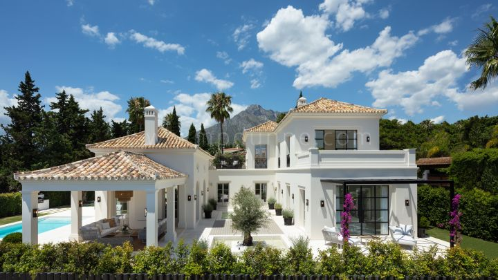 Marbella Golden Mile, Brand New Elegant Modern Villas for Sale in Marbella