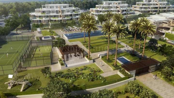 Estepona, Beachfront Development in New Golden Mile