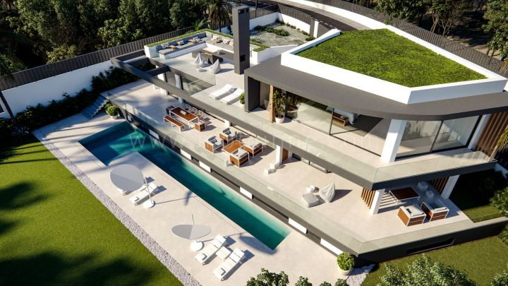 Marbella Golden Mile, New Villa Project in Lomas del Marbella Club, Marbella Golden Mile