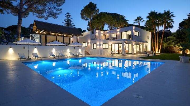 Contemporary renovated luxury villa in Nueva Andalucia, Marbella