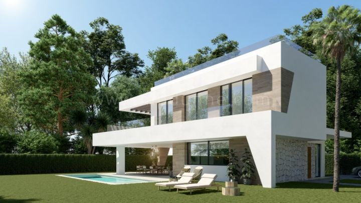 Marbella East, Detached VIlla Off Plan on the beachside in Elviria, Marbella East
