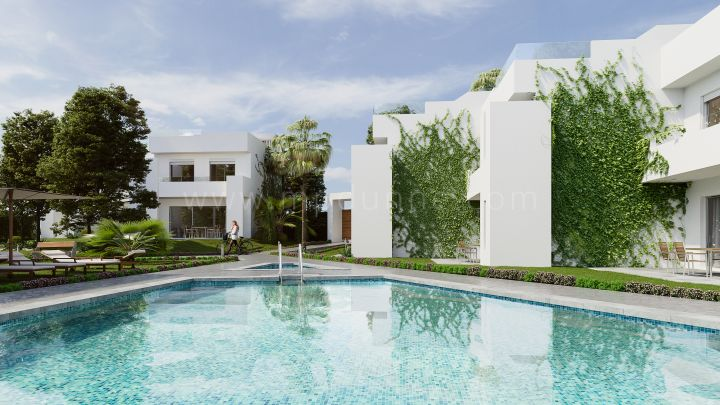 Nueva Andalucia, New development of modern townhouses in Nueva Andalucia