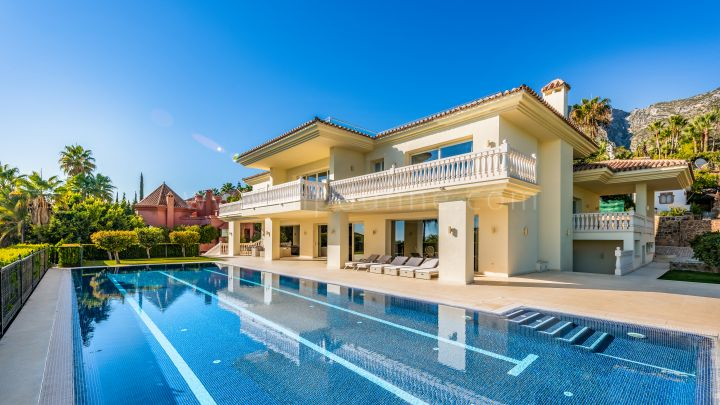Marbella Golden Mile, Luxury Villa For Sale in Sierra Blanca, Marbella