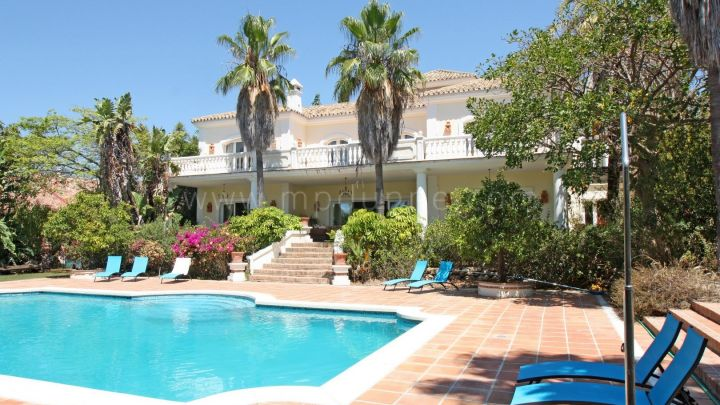 Marbella Golden Mile, Stunning family home for sale in El Vicario, Marbella Golden Mile