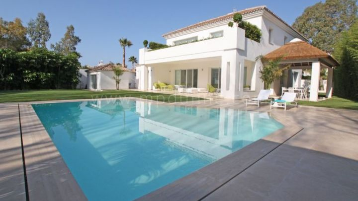 San Pedro de Alcantara, Luxury Contemporary Villa in Guadalmina Baja for rent