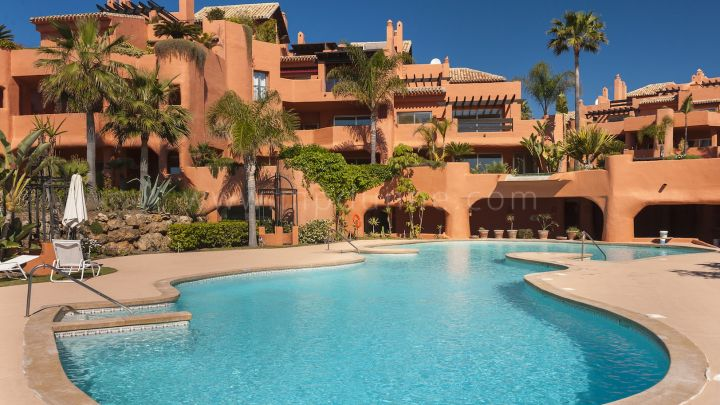 Marbella East, Beautiful beach front, residential complex consisting of 45 apartments and duplex
