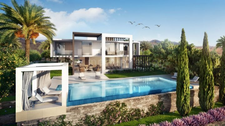 Marbella East, 4 bedroom Modern Villa for Sale in Marbella East under construction
