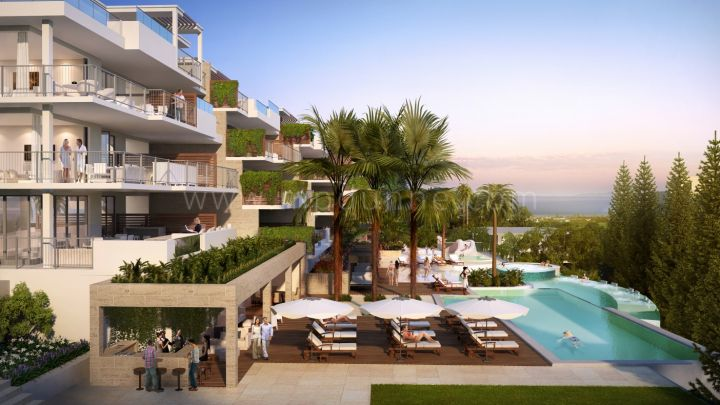 Mijas Costa, Jardinana Lotus, Apartments for sale off-plan in La Cala de Mijas