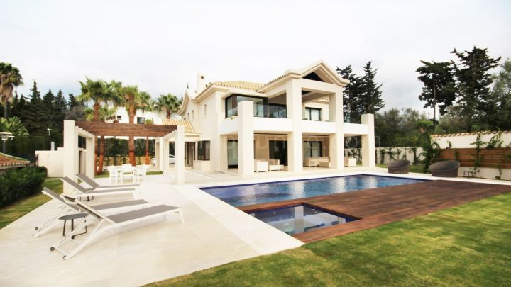 Marbella Golden Mile, Brand New modern stil Villa Beachside Golden Mile
