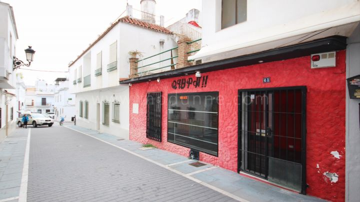 San Pedro de Alcantara, Residential Property with commercial premises in San Pedro Center