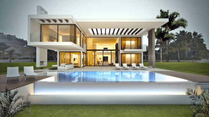 Benahavis, Modern Villa project in La Reserva de La Quinta currently under construction and scheduled to be completed end of July 2016