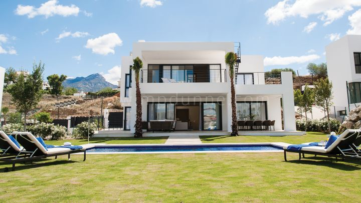 Nueva Andalucia, New Modern Villa in Nueva Andalucia Marbella just completed