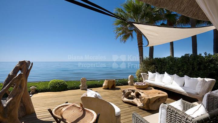 Au bord de plage à Marbella