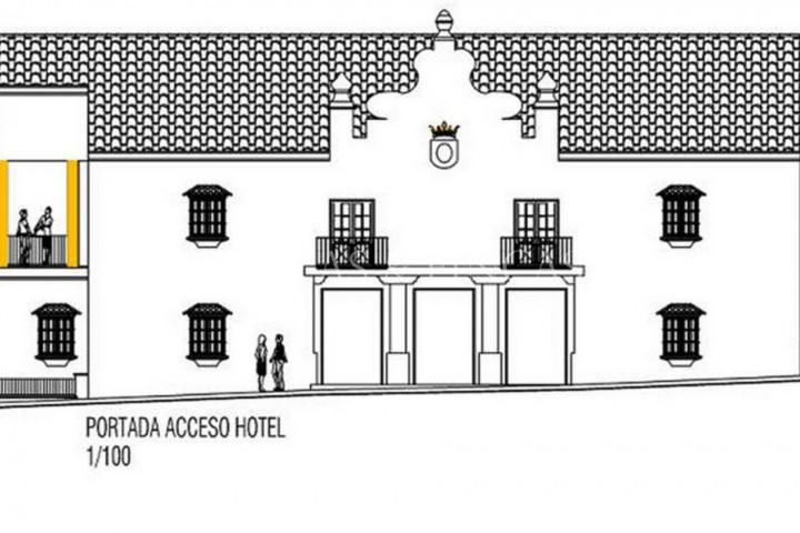 Arcos de la Frontera, Land met project voor Hotel