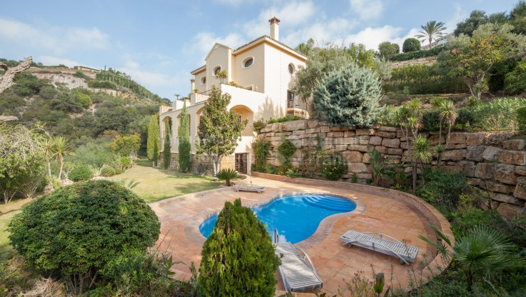 Andalusian Style Villa for Rent in La Zagaleta