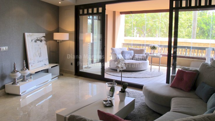 Luxury frontline beach apartment - Ground Floor Apartment for sale in Casablanca Beach, San Pedro de Alcantara