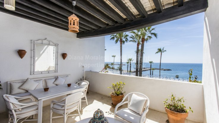 First Line Beach Penthouse - Penthouse for sale in Playas del Duque, Marbella - Puerto Banus