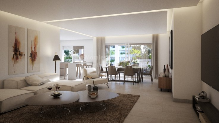 3 bedroom apartment in the Golden Mile - Apartment for sale in Las Lomas del Marbella Club, Marbella Golden Mile