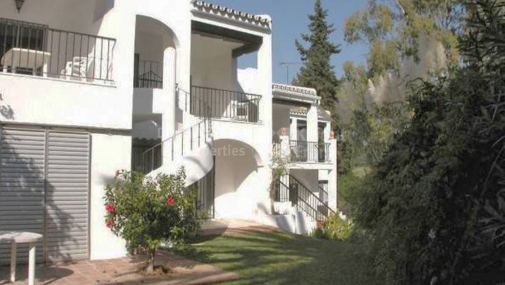 Three bedroom townhouse in Aloha Golf - Town House for sale in Nueva Andalucia