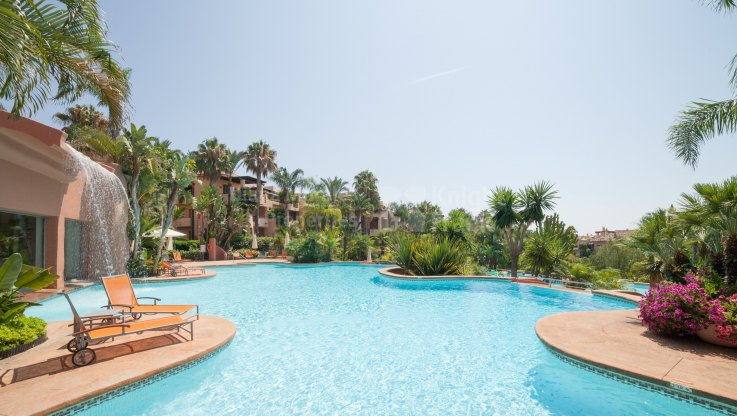 Corner ground floor apartment in Mansion Club - Ground Floor Apartment for sale in Mansion Club, Marbella Golden Mile