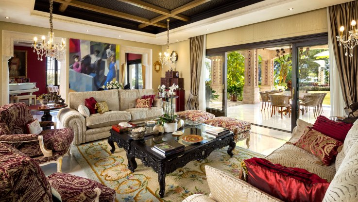 Unique Masterpiece - Villa for sale in Quinta de Sierra Blanca, Marbella Golden Mile