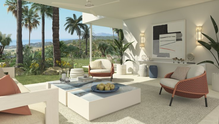 Spacious apartment in New Development - Ground Floor Apartment for sale in Benahavis