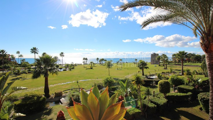 Estepona, Unique Luxury 6 Bedroom Frontline Beach Triplex