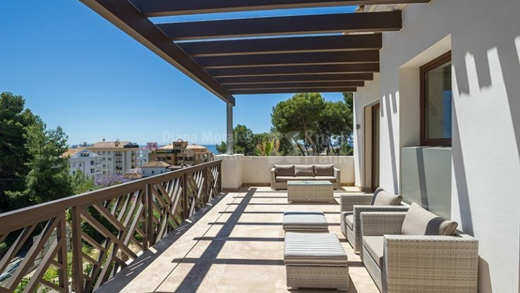 Villa in the centre of the town - Semi Detached Villa for sale in Marbella Centro, Marbella city