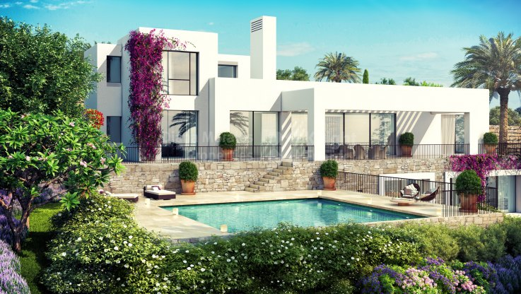 Casares, Villa Under Construction within Golf Course