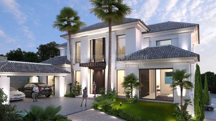 Benahavis, Villa in quiet area with modern design