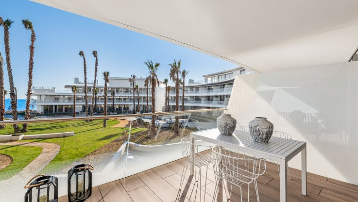Beachfront penthouse in new development - Apartment for sale in Estepona Playa, Estepona