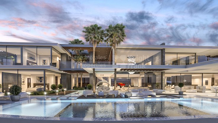 Turn key project in La Zagaleta - Villa for sale in La Zagaleta, Benahavis