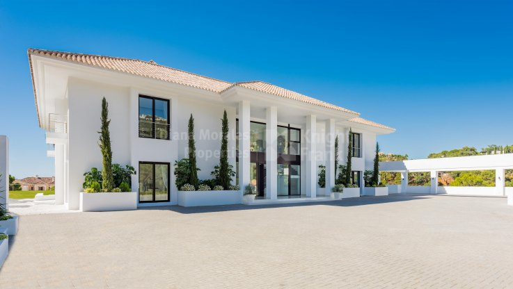 Newly Built Contemporary Villa in La Zagaleta - Villa for sale in La Zagaleta, Benahavis
